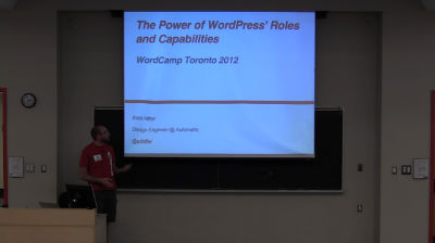 Erick Hitter: The Power of WordPress Roles & Capabilities