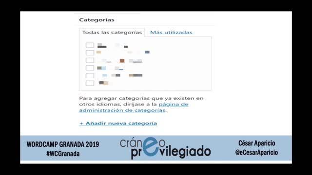 Cesar Aparicio: Cuestiones fundamentales para posicionar tu WordPress