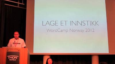 Morten Hauan: Writing a Plugin