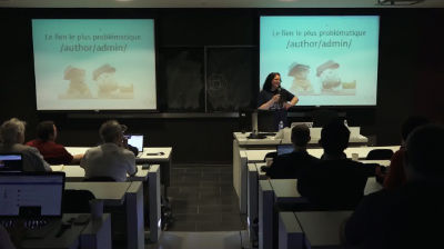 Marie-Lynn Richard: La manipulation d'URL et surindexation de WordPress