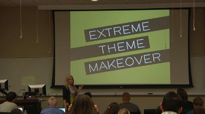 Megan Gray: Extreme Theme Makeover