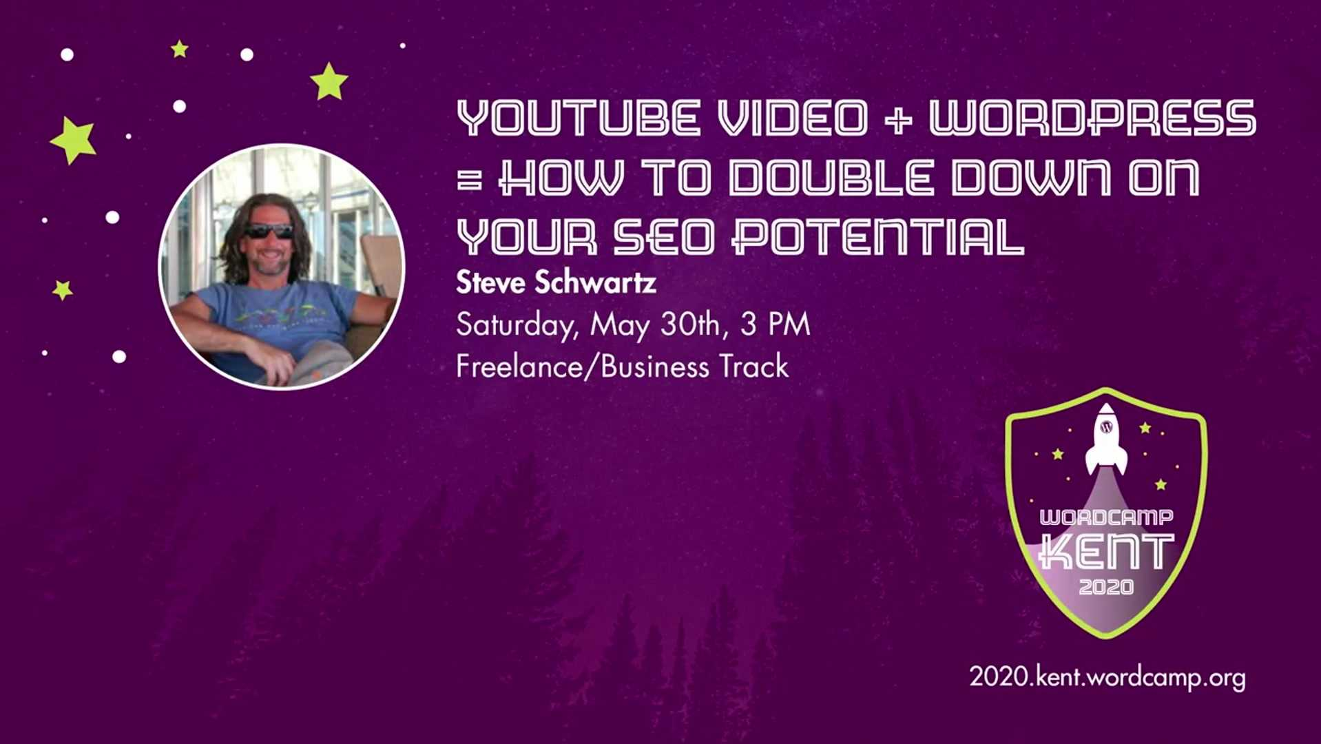Steve Schwartz: YouTube Video with WordPress: Double Down on Your SEO Potential