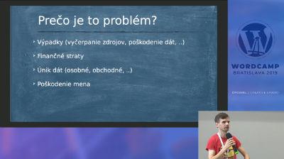 Jozef Sudolský: Analýza kybernetických útokov na systémy WordPress