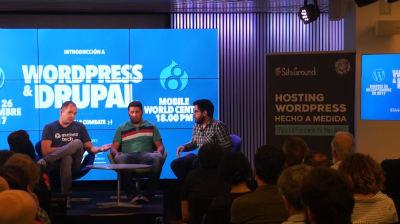 Joan Artés, Siddharta Navarro, Luis Ortiz: Introducción a Drupal y WordPress