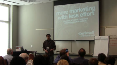 Erik Wolf: Grow Your Business NOW: Maximize Marketing Efficiencies With WordPress