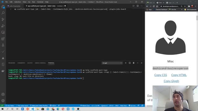 Fabio Pacifici: How to Create a WordPress Plugin With a Custom Post Type #1