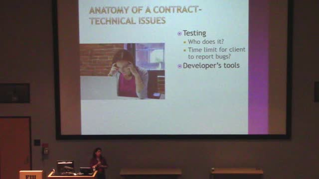 Chrissie Scelsi: Contract Basics for Web Professionals