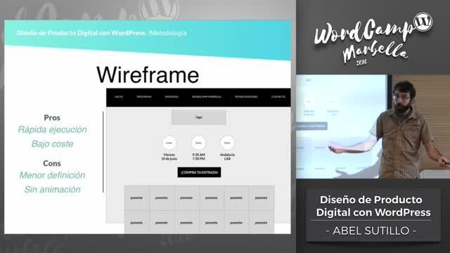 Abel Sutilo: Diseño de Producto Digital con WordPress