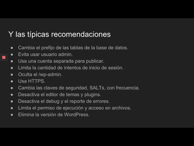 Jose Arcos: Principios básicos de Seguridad