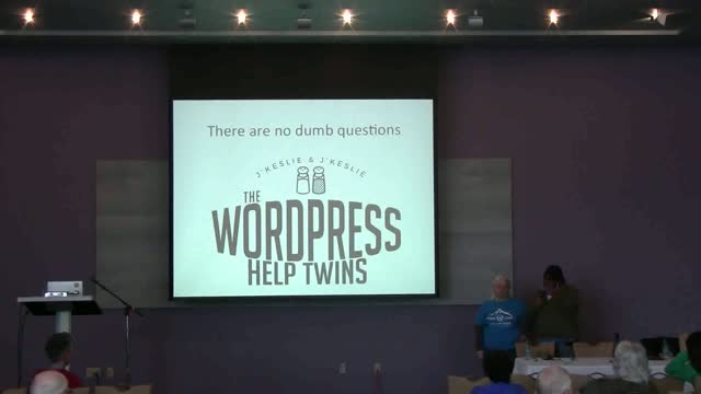 Leslie Stewart and Kelli Wise: There Are No Dumb Questions - QandA With The WordPress Help Twins