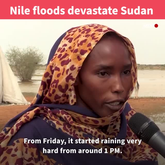 Heavy rains, floods kill 5, destroy 2,382 houses in Sudan
