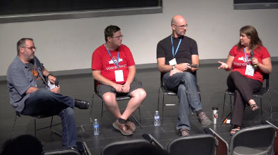 Jean-Francois Arseneault, Alex Ruaux, Jonathan Perlman: Panel on building multilingual websites