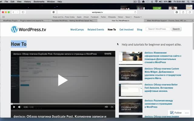 WordPress TV Shortz Episode 16