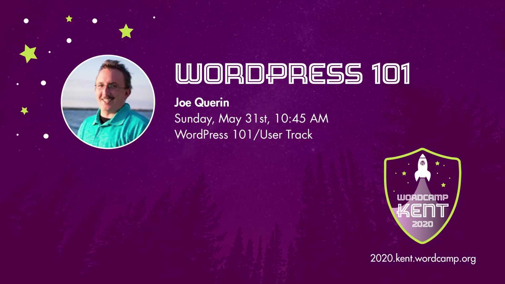 Joe Querin: WordPress 101 (Session Two)