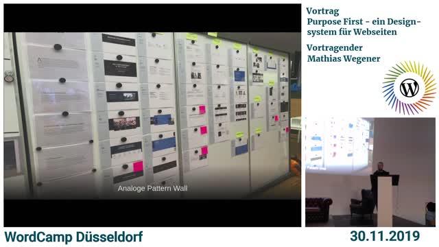 Mathias Wegener: Purpose First – ein Designsystem für Webseiten