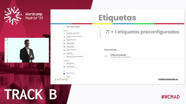 Carlos M. Díaz: No solo códigos de seguimiento. Potencia tu WordPress con Google Tag Manager