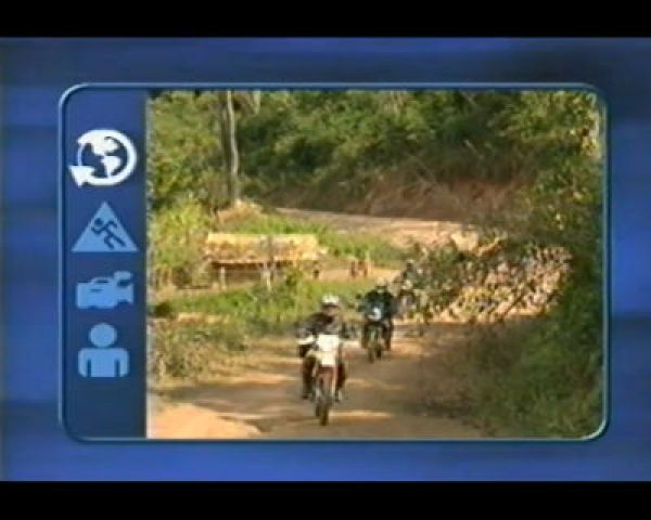 TV Show - The Laos Lost City Motorcycle Tour - Part 2