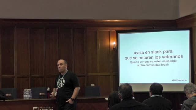 Pablo Moratinos: Cómo conseguir 25 asistentes a tu primera WordPress Meetup (y mantenerlos)