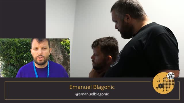 Volunteer Stories: Emanuel Blagonic at WordCamp Europe 2017