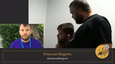 Volunteer Emanuel Blagonic