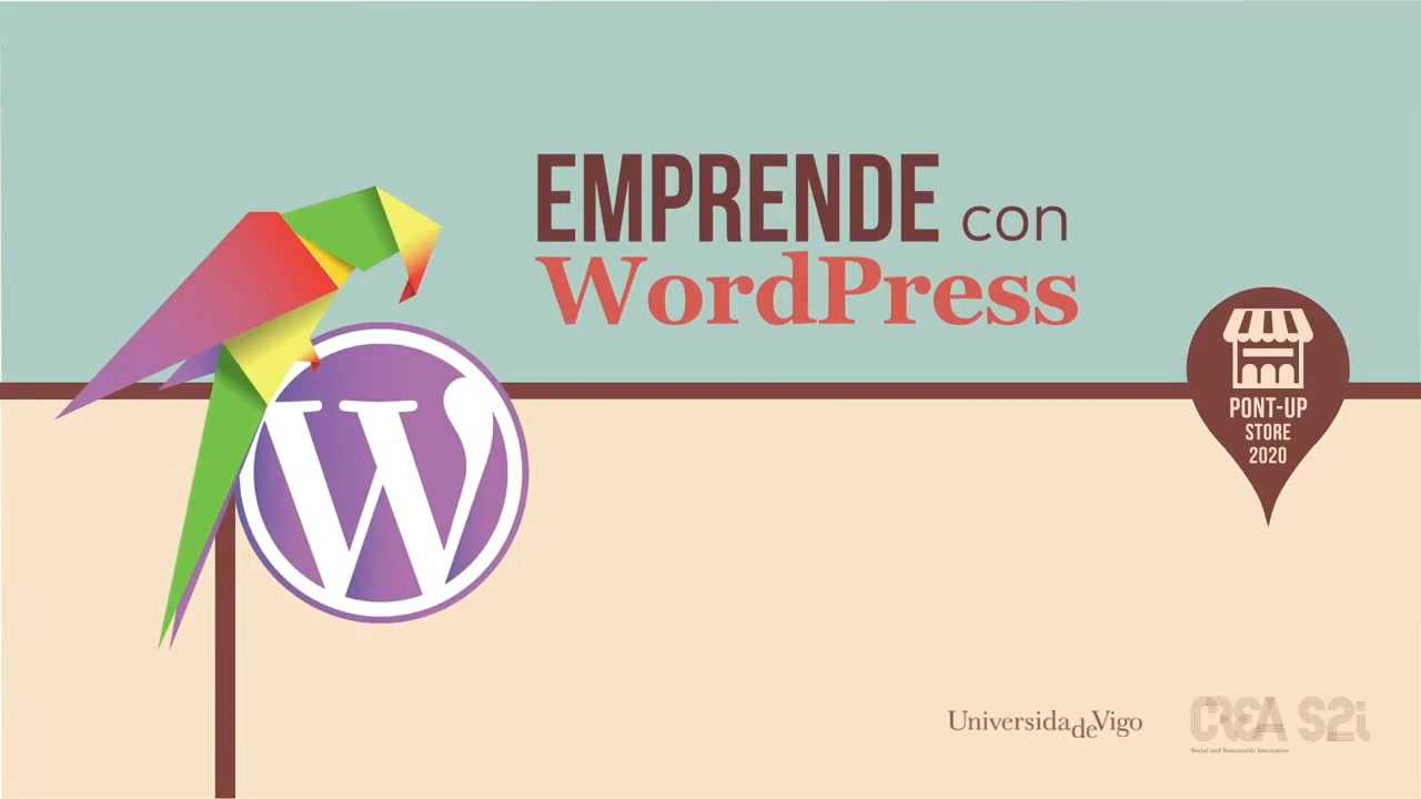 Emprende con WordPress PontUp Store 2020 apertura