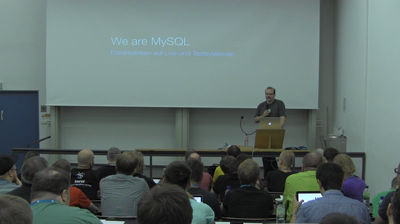 Christoph Daum: We are MySQL – Datenbanken auf Live und Testsystemen