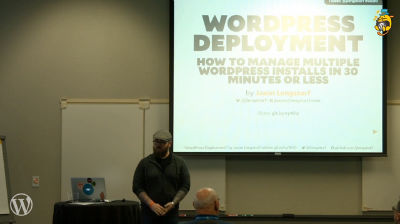 Jason Lengstorf: WordPress Deployment for Professionals - How to Solve the Problem of Multiple WordPress Installs in 30 Minutes or Less