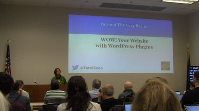 Tara Claeys: Wow Your Website with WordPress Plugins