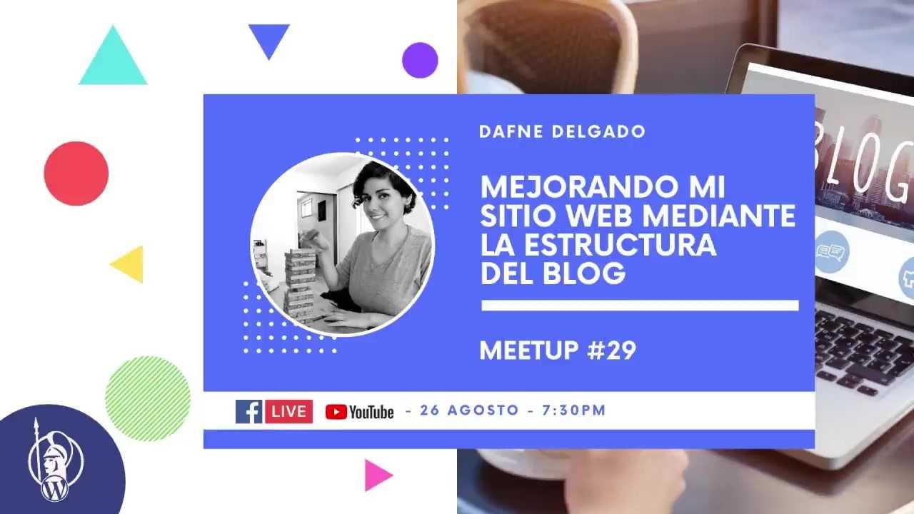 Dafne Delgado: Mejorando mi sitio web mediante la estructura del blog