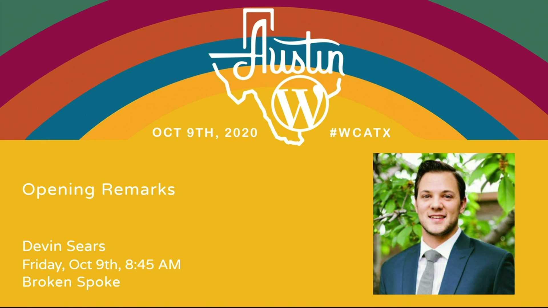 WordCamp Austin 2020 Opening Remarks