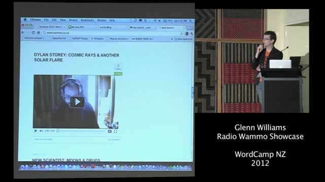 Glenn Williams – Radio Wammo Live