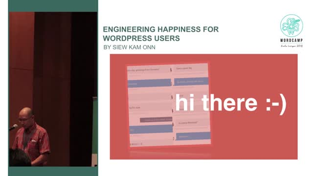 Siew Kam Onn: Engineering Happiness for WordPress users