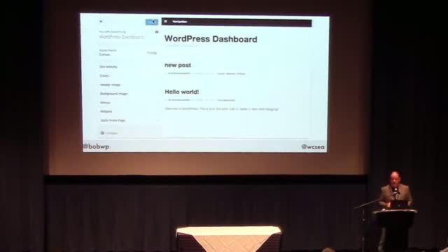 Bob Dunn: The WordPress Dashboard Demystified