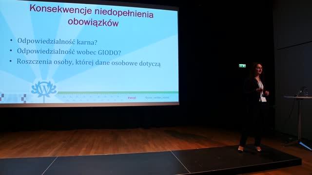 Karolina Gorczyca: Obowiązki blogera a przetwarzanie danych osobowych