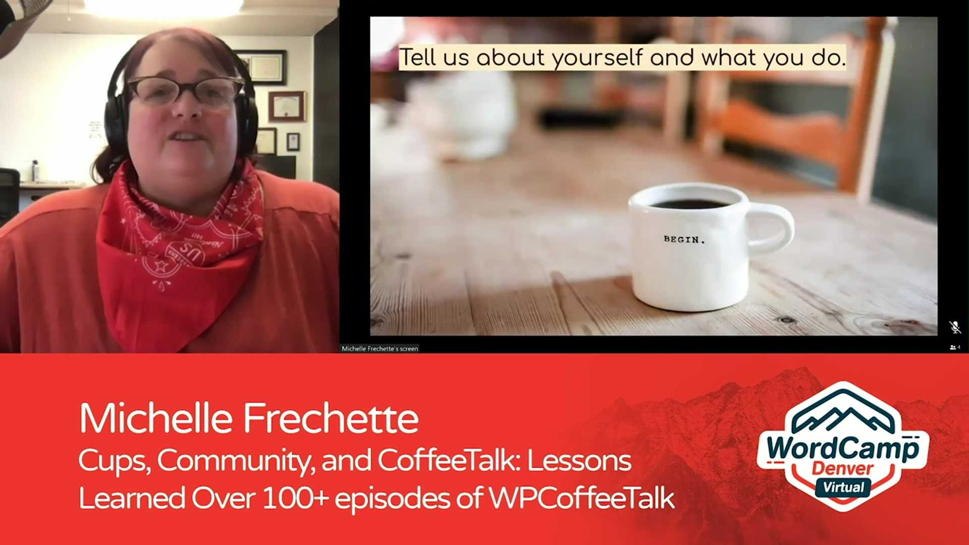 Michelle Frechette: Cups, Community, and CoffeeTalk – Lessons Learned Over 100+ Episodes of WPCoffeeTalk