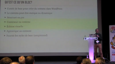 Riad Benguella: Gutenberg, le futur de la création de contenu dans WordPress