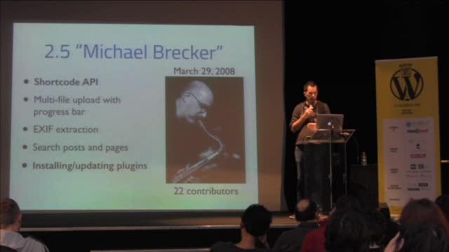Marko Heijnen : L'histoire du code WordPress (1/2) (en anglais)