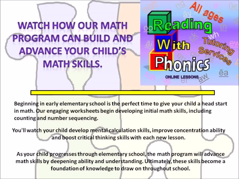 Reading With Phonics Tutoring ServicesWe specialize in tutoring ...