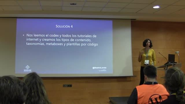 Beatriz Lavela Pérez: Custom Post Types: toda la vida usándolos, aprende a hacerlos