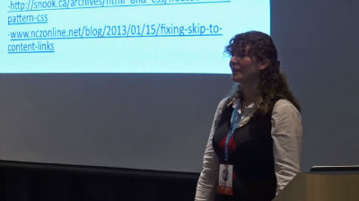 Stephanie Hobson: Accessibility With CSS - Making Websites Better for Everyone