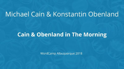 Cain & Obenland In The Morning
