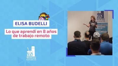 Elisa Budelli: Lo que aprendí en 8 años de trabajo remoto