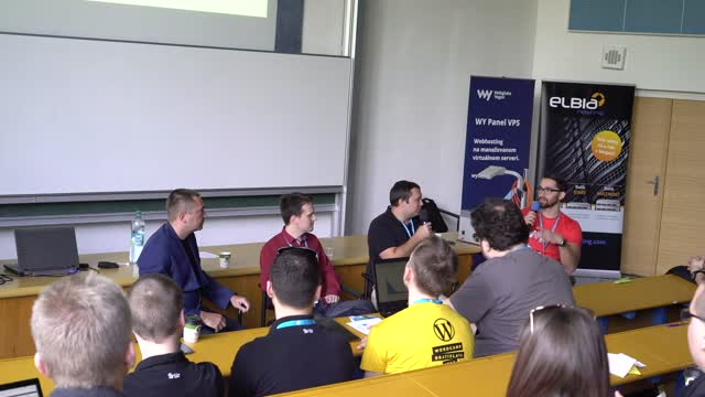 Peter Nemčok, Ivan Potančok and Tomáš Kocifaj: Panelová diskusia - Webikon, Brilo a Vibration