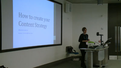 Liz Hannaford: Developing Your Content Strategy