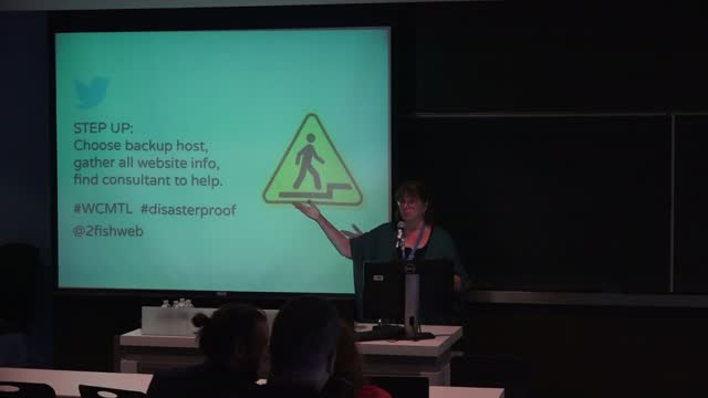 Kate Newbill: Disaster-Proofing - Protect Your Site Before Something Goes Wrong