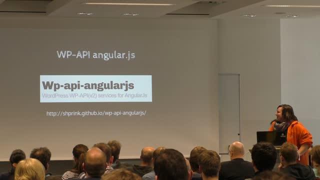 Birgit Olzem: WordPress REST API– Best Practise and Use Cases