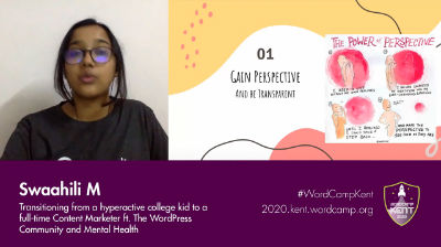 Swaahili M: Transitioning From Hyperactive Kid to Full-Time Content Marketer Featuring The WordPress Community