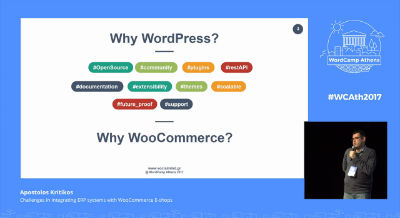 Apostolos Kritikos: Challenges in Integrating ERP Systems With WooCommerce E-shops