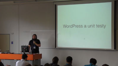David Biňovec: UNIT Testy ve WordPress – testujte, testujte a testujte od David Biňovec