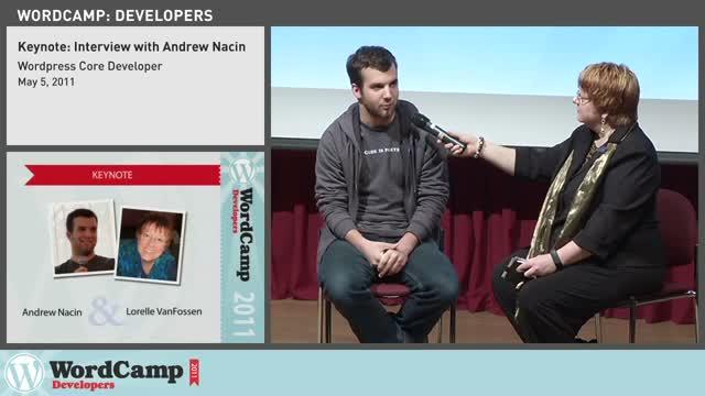 Lorelle VanFossen interviews Andrew Nacin